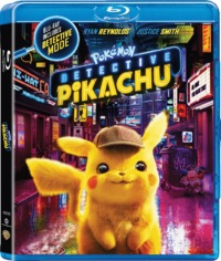 Detective Pikachu (Blu-ray) - Cover
