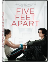 Five Feet Apart (DVD) - Cover