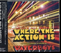 Waterboys - Where the Action Is (CD) - Cover