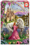 Educa - Fairy and Unicorn Puzzle (500 Pieces) Cover
