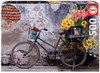 Educa - Bicycle With Flowers Puzzle (500 Pieces)