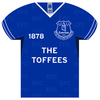 Everton - Shirt Shaped Metal Sign