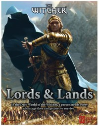 The Witcher - Lords & Lands (Role Playing Game) - Cover