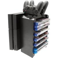 Venom 2-in-1 Games Storage Tower and Twin Charging Dock (PS4)