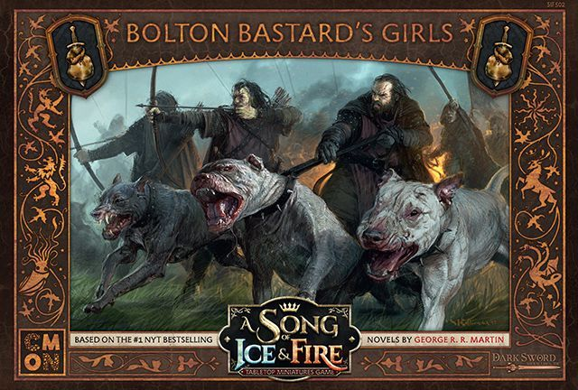 A Song of Ice & Fire: Tabletop Miniatures Game - Bolton Bastard's Girls  (Miniatures)