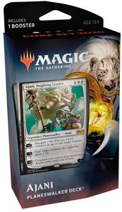 Magic: The Gathering - Core Set 2020 Planeswalker Deck - Ajani (Trading Card Game) - Cover