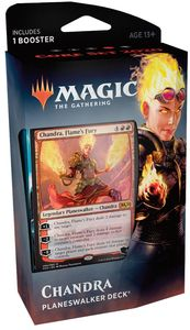 Magic: The Gathering - Core Set 2020 Planeswalker Deck - Chandra (Trading Card Game) - Cover