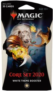 Magic: The Gathering - Core Set 2020 Theme Booster - White (Trading Card Game) - Cover