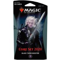 Magic: The Gathering - Core Set 2020 Theme Booster - Black (Trading Card Game)
