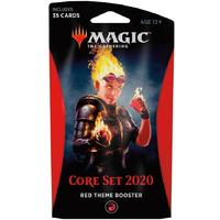 Magic: The Gathering - Core Set 2020 Theme Booster - Red (Trading Card Game)
