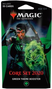 Magic: The Gathering - Core Set 2020 Theme Booster - Green (Trading Card Game) - Cover