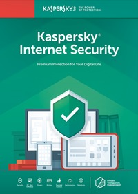 Kaspersky Internet Security 1 Device 1 Year - Cover