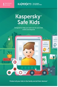 Kaspersky Safe Kids 1 User 1 Year - Cover
