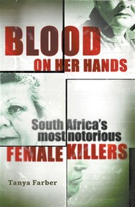 Blood On Her Hands - Tanya Farber (Trade Paperback) - Cover