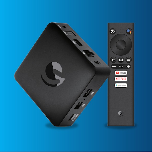Ematic 4K Android TV Box (Netflix and Google Certified - 4K HDR / DSTV Now  / Showmax approved)