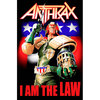 Anthrax I Am the Law Textile Poster