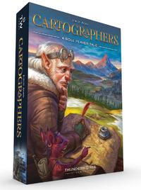Cartographers: A Roll Player Tale (Board Game) - Cover