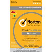 Norton Security Premium 10 Devices 1 Year