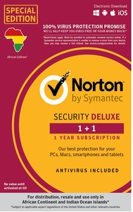 Norton Security Deluxe 1 Device 1 Year