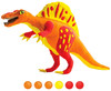Robotime - 3D Wooden Puzzle With Clay - Spinosaurus