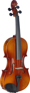 Stagg VN-4/4 L 4/4 Violin with Soft Case (Natural) - Cover
