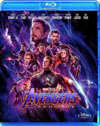 Avengers: Endgame (Blu-ray) - Cover