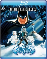 Batman & Mr. Freeze: Sub Zero (Triple Feature) (Region 1 DVD) - Cover