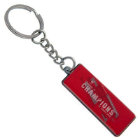 Liverpool - Champions of Europe 2019 Metal Keyring - Cover