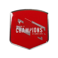 Liverpool - Champions of Europe Badge - Cover