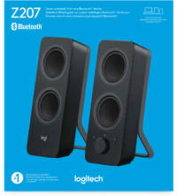 097a09397fe Logitech - Z207 2.0 Stereo Computer Speakers with Bluetooth (PC) - Cover