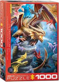 Eurographics - Dragon Clan Puzzle (1000 Pieces) - Cover