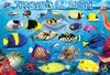 Eurographics - Tropical Fish Puzzle (100 Pieces)