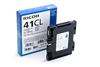 Ricoh 405766 GC41CL Cyan Low Yield 600 Pages Ink Cartridge