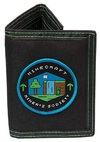 Minecraft - Miners Society - Tri-Fold Wallet - Black/Green Cover