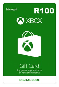 Xbox Live R100 Gift Card (Xbox One/Xbox 360/Win 10) - Cover