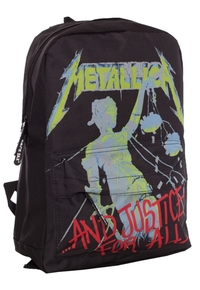 Metallica - And Justice For All Classic Rucksack - Cover