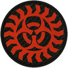Generic - Biohazard Circular Standard Patch (Patches: Woven Sew On)