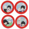 The Beatles - Cartoon Porthole Patch (Set of 4) (Patches: Iron On)