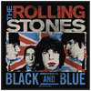 Rolling Stones - Black And Blue Retail Packaged Patch (Patches: Woven Sew On)