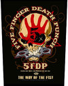 Five Finger Death Punch - Way Of The Fist Back Patch (Patches: Woven Sew On)