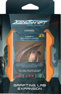 XenoShyft - Grafting Lab Expansion (Board Game) - Cover