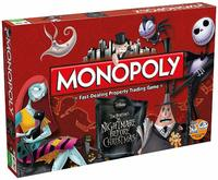 Nightmare Before Christmas - Monopoly Board Game - Cover