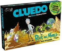 Rick & Morty - Cluedo Board Game - Cover