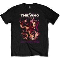 The Who - Japan '73 Men's T-Shirt - Black (Small) - Cover