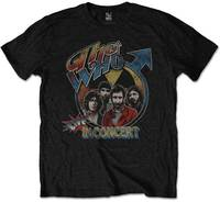 The Who - Live In Concert Men's T-Shirt - Black (XX-Large) - Cover