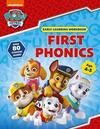 First Phonics (Ages 4 to 5; Paw Patrol Early Learning Sticker Workbook) - Scholastic (Paperback)