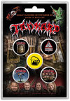 Tankard - One Foot In the Grave Button Badge (Set of 5)