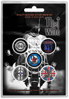 The Who - Quadrophenia Button Badges (Pack of 5)
