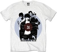 The Who - Packaged Maximum R&B T-Shirt - White (Large) - Cover
