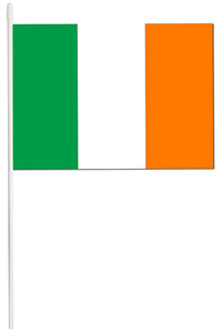Ireland Hand Flag (Pack of 12) - Cover